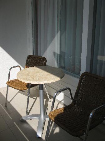 Hotel Quercus: balcony