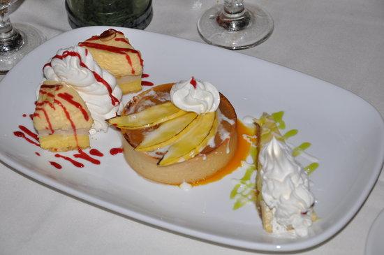 Caribbean Pearl Restaurant and Bar : Dessertteller