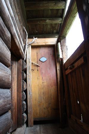 Nordre Ekre Gardshotell: Toilet attic