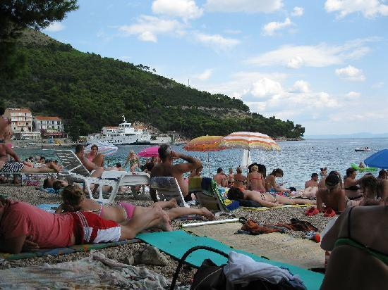 Drvenik, Croacia: beach