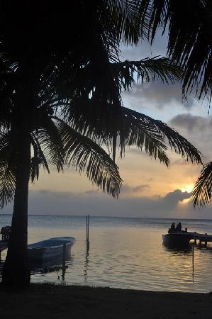 CayeReef: Sunset