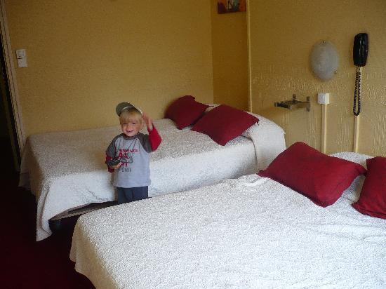 Hotel Alexandra: La chambre
