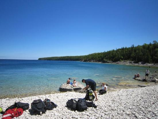 Coach House Inn: One of Tobermory's Beaches