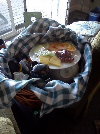 Marina, Californien: picnic basket breakfast