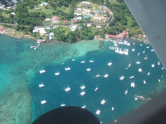 Buccament Bay Resort : Up,up and away