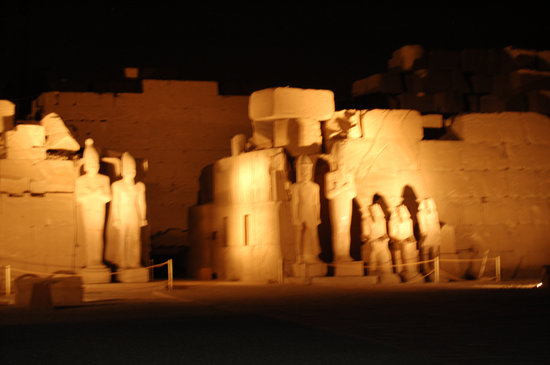 Luxor Sound and Light Show with transportation
