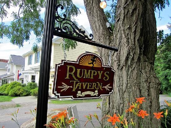 The Village Inn Bed and Breakfast: we visited Rumpy's in the inn's basement for a drink