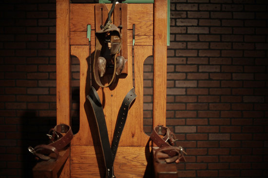Texas Prison Museum Old Sparky - Electric Chair in Huntsville Prison Museum & Old Sparky - Electric Chair in Huntsville Prison Museum - Picture of ...