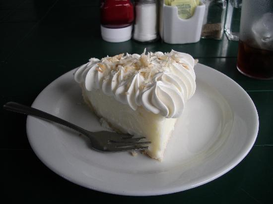 Sea Gull Restaurant: Homemade Coconut Cream Pie