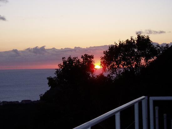 Bistro del Mare: Sunset from Pool Deck