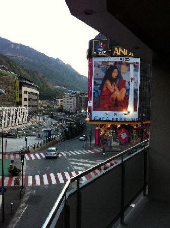 Hesperia Andorra la Vella: View from balcony