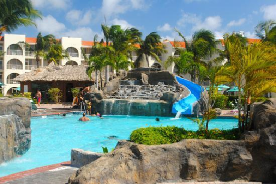 La Cabana Beach Resort The Pool With Waterslide