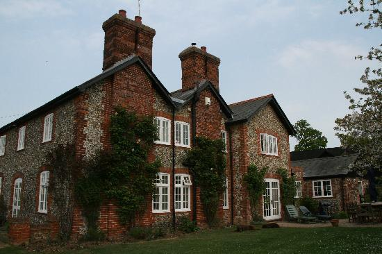Bartlow, UK : Back of the house