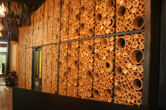 La parete di bambù - Picture of MI - Cucina di Confine, Milan ...