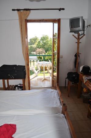 Electra Pension: private balcony