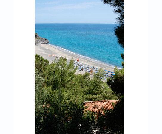 Villaggio Alberghiero Cala d'Arconte: Panoramica dall'alto