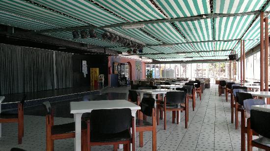 Annapurna Hotel Tenerife: Stage area