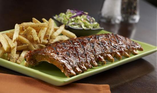 Tony Roma's Ribs, Seafood, & Steaks: Baby Back Ribs and Fliet Medallions
