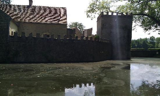 Chateau de Vault-de-Lugny : Schloss von außen