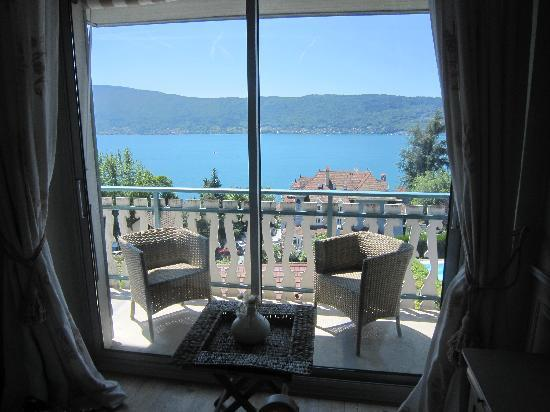 Les Terrasses du Lac: view from room