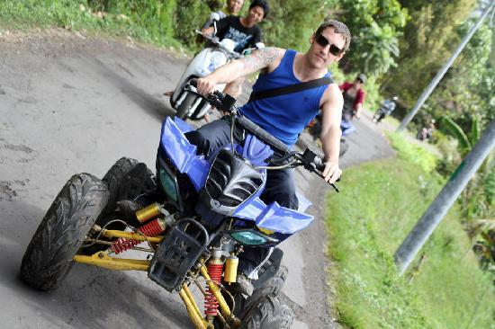 Bali By Quad: cruisin'