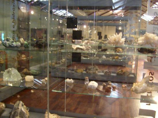 Museo Nacional de Ciencias Naturales: reparto minerali