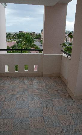 Hotel Hoa Bien: Workout balcony