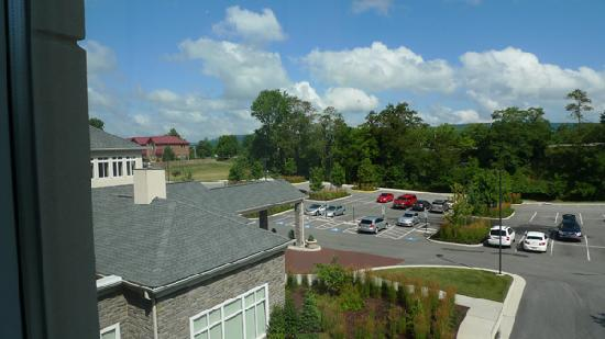 Hilton Garden Inn Blacksburg : Our room view