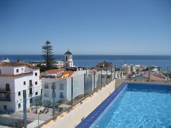 Hotel Mena Plaza : View from the rooftop pool