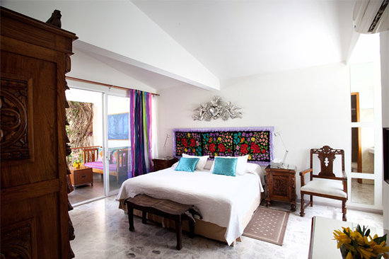 Casa de Las Bugambilias B&B: Violetas room