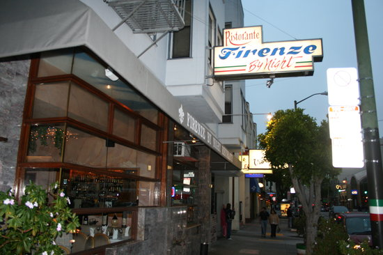 Excellent Italian Restaurant In North Beach Firenze By