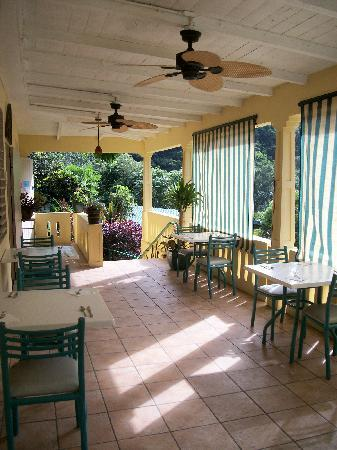 Casa Grande Mountain Retreat: Area de Balcon del Restaurante