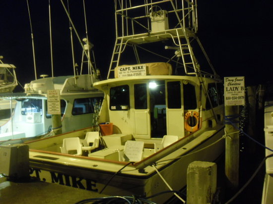 Captain Mike Charters: Captain Mike at 5:30 AM