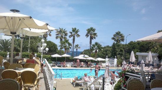 Hotel Rocamarina: On the terrace
