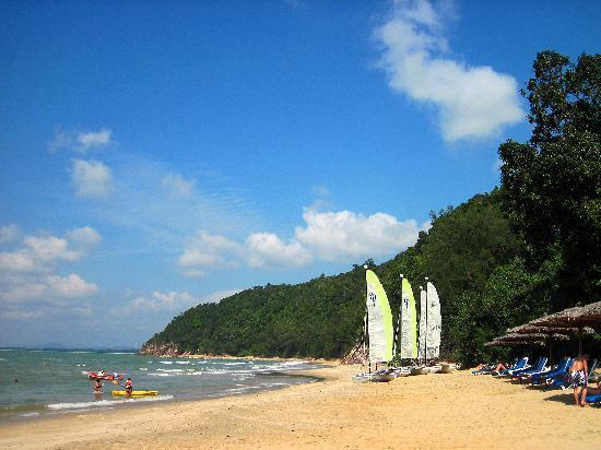 Club Med Cherating Beach: 遠浅の南側ビーチ