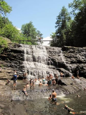 The Inn at Fall Creek Falls State Park: Cane Creek Cascades