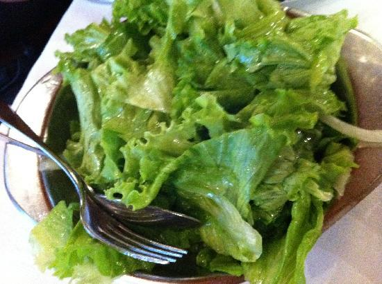 Mealhada, Portugal: Green salad
