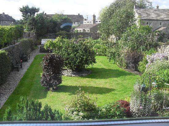 Ashfield House: view of the gardens from our room