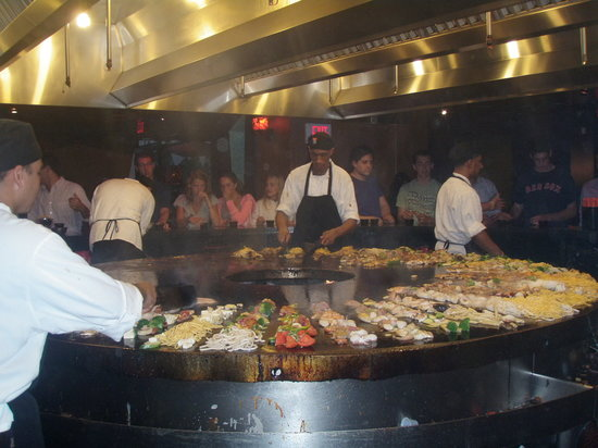 Fire and Ice : Cooking up the food