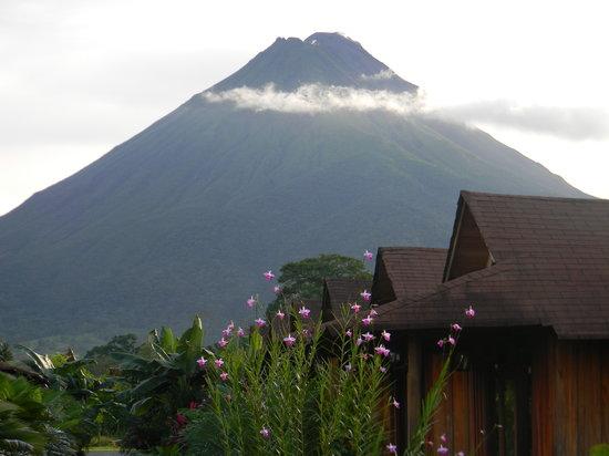 Hotel Arenal Montechiari: Vista del Volcan desde nuestro Hotel