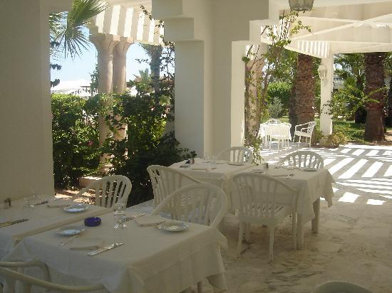 Hasdrubal Thalassa & Spa Djerba: repas à l'extérieur