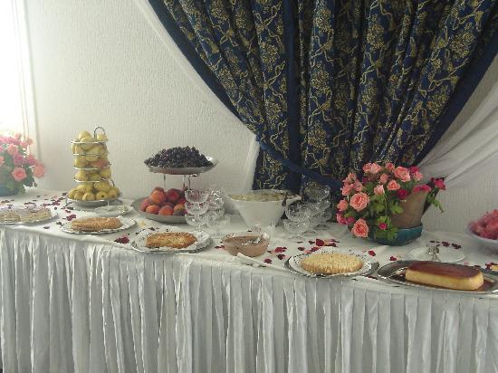 Hasdrubal Thalassa & Spa Djerba: buffet dessert