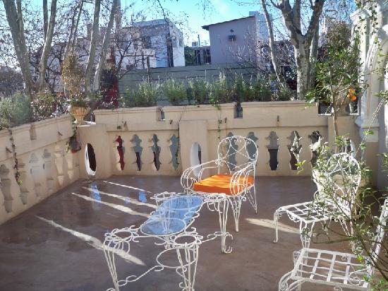 Rendez Vous Hotel Buenos Aires: varanda do quarto