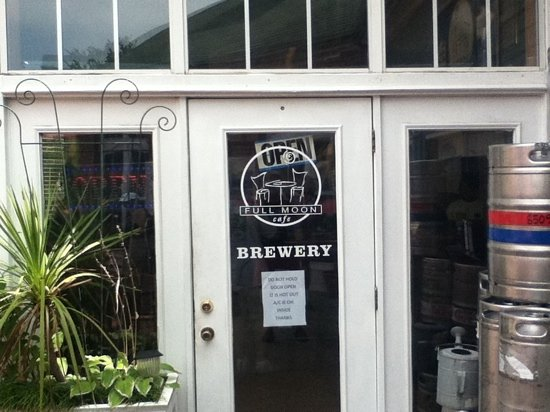 Full Moon Cafe: brewery