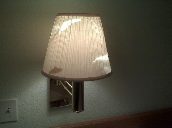 One Of The Torn Lamp Shades In The Room Picture Of Studio 6