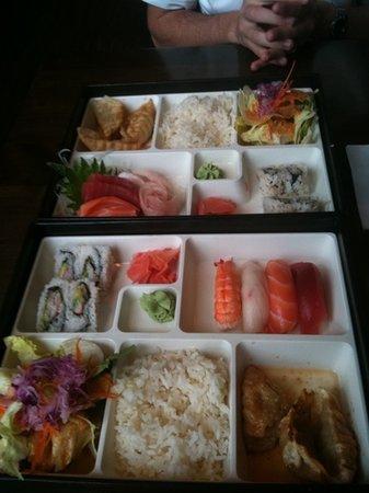 Seito Sushi: bento boxes