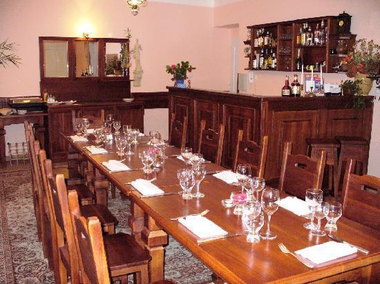 GJ Residence Na Vinohradu: dining hall
