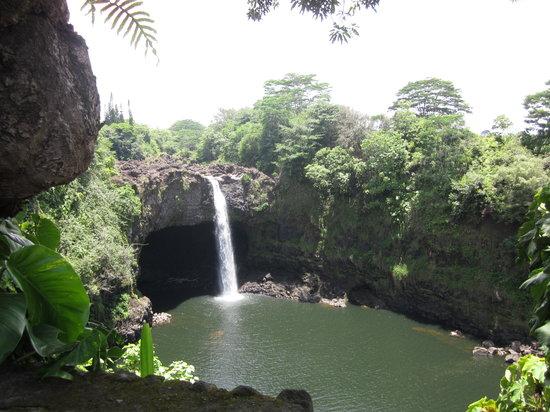 Wailuku River State Park: the falls