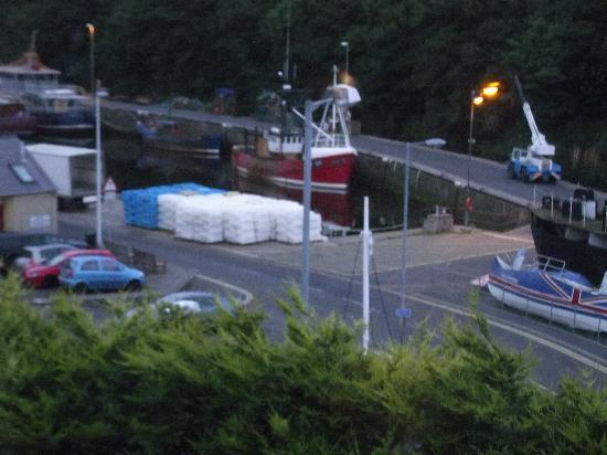 Eyemouth, UK: View from Bedroom