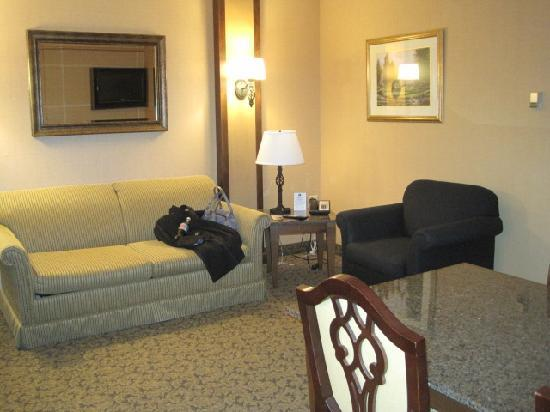 Heritage Hills Golf Resort & Conference Center: Business Suite-Lounge area